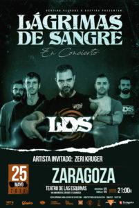 Lagrimas de Sangre en Zaragoza @ Teatro de las Esquinas