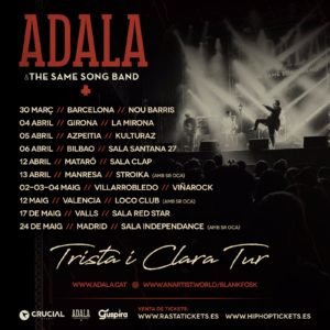 Adala & The Same Song Band en Valencia @ Loco Club