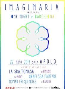 La Sra. Tomasa en Barcelona @ Imaginaria Festival