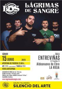 Lagrimas de Sangre en Aldeanueva del Ebro @ Sala Entreviñas