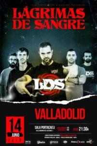 Lagrimas de Sangre en Valladolid @ Sala Portacaeli