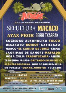 Lagrimas de Sange en Adra @ Juergas Rock