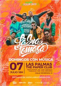 La Sra. Tomasa en Las Palmas @ The Paper Club