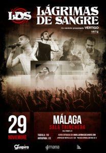 Lágrimas de Sangre en Málaga @ Sala Trinchera