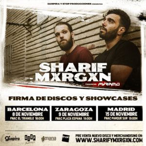 Sharif & Mxrgxn en Zaragoza @ Fnac Plaza España