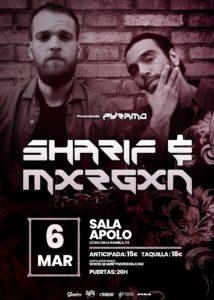 Sharif & Mxrgxn en Barcelona @ Sala Apolo