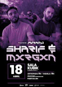 Sharif & Mxrgxn en Vitoria-Gasteiz @ Sala Kubik