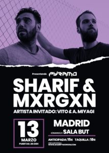 Sharif & Mxrgxn en Madrid @ Sala But
