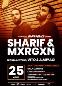 Sharif & Mxrgxn en Santiago de Compostela @ Sala Capitol