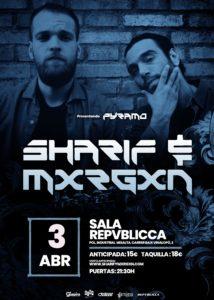 Sharif & Mxrgxn en Valencia @ Sala Repvblicca
