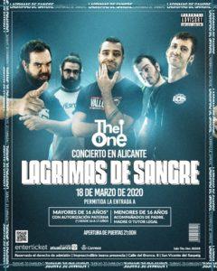 Lágrimas de Sangre en Alacant @ Sala The One