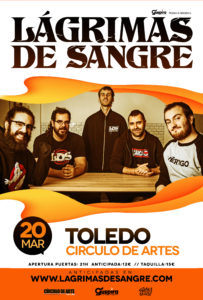 Lágrimas de Sangre en Toledo @ Circulo de artes