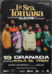 La Sra. Tomasa en Granada @ Sala El Tren
