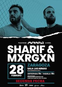 Sharif & Mxrgxn en Zaragoza @ Las Armas