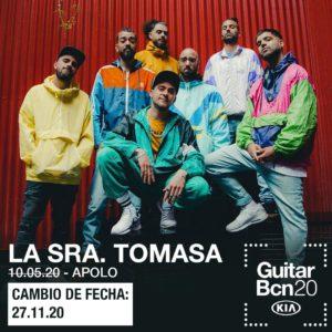 La Sra. Tomasa en Barcelona @ Sala Apolo - Guitar Fest
