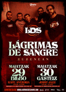Lágrimas de Sangre en Bilbao @ Kafe Antzokia