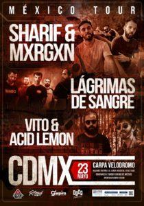 Lagrimas de Sangre en CDMX @ Carpa Velodromo