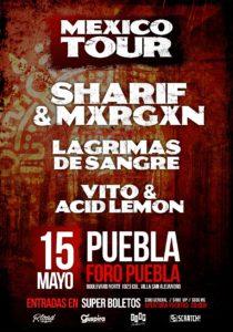 Lagrimas de Sangre en Puebla @ Puebla