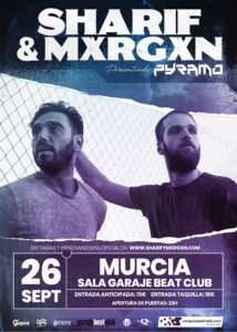 Sharif & Mxrgxn en Murcia @ Sala Garage Beat Club