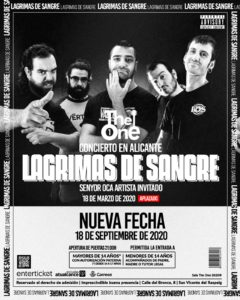 Lagrimas de Sangre en Alacant @ Sala The One