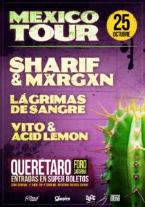 Sharif & Mxrgxn en Queretaro @ Foro Catarina