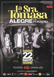 La Sra. Tomasa en Madrid @ Teatro EDP Gran Via