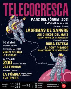 Lagrimas de Sangre en Barcelona @ Telecogresca