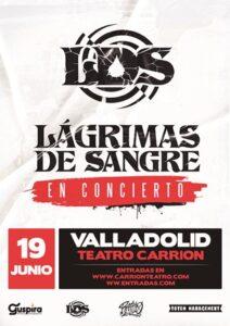Lágrimas de Sangre en Valladolid @ Teatro Carrion
