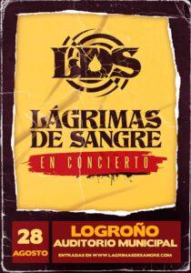 Lágrimas de Sangre en Logroño @ Auditorio Municipal