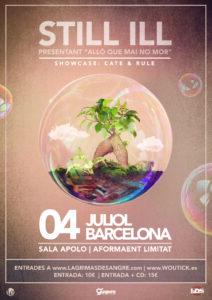 Still Ill en Barcelona @ Sala Apolo