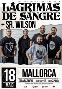Lagrimas de Sangre en Mallorca @ Sala Es Gremi