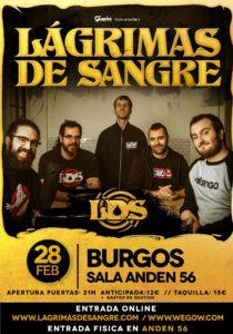 Lágrimas de Sangre en Burgos @ Andén 56