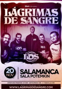 Lágrimas de Sangre en Salamanca @ Sala Potemkin