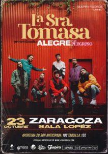 La Sra. Tomasa en Zaragoza @ Sala Lopez