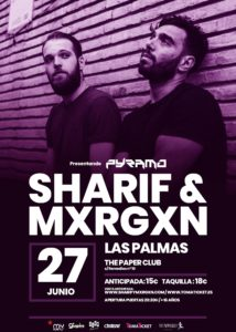 Sharif & Mxrgxn en Las Palmas @ The Paper Club