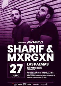 Sharif & Mxrgxn en Las Palmas @ The Paper Club