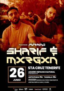 Sharif & Mxrgxn en Tenerife @ Espacio Cultural Aguere
