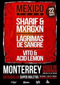 Lagrimas de Sangre en Monterrey @ Vasco de Quiroga