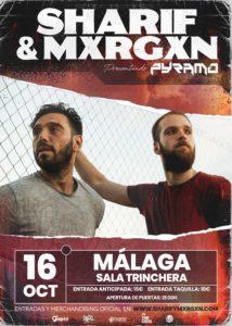 Sharif & Mxrgxn en Málaga @ Sala Trinchera