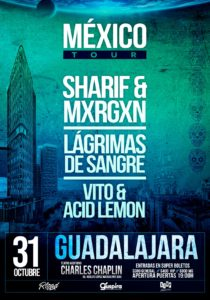 Sharif & Mxrgxn en Guadalajara @ Teatro Charles Chaplin