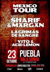 Sharif & Mxrgxn en Puebla @ Sala Sonar
